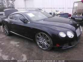 Salvage Bentley Continental GT Speed